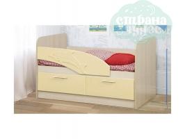 Кровать Дельфин 140 см бежевый