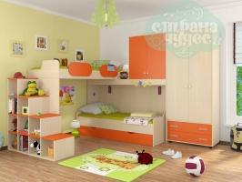 Комната ФМ Дельта V.6, оранжевая