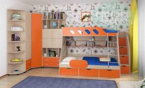 Комната ФМ Дельта V.15, оранжевая