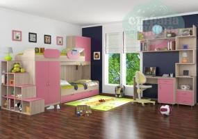 Комната ФМ Дельта V.1, розовая