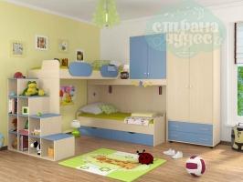 Комната ФМ Дельта V.6, голубая