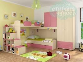 Комната ФМ Дельта V.6, розовая