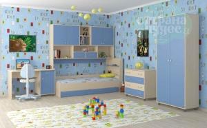 Комната ФМ Дельта V.8, голубая