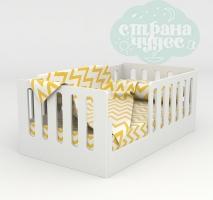 Кровать с высокими бортиками