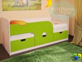 Кровать детская BTS Минима Лайм