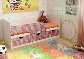Кровать детская BTS Минима Китти