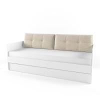 Подушка диванная 38 Попугаев, бежевая