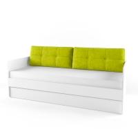 Подушка диванная 38 Попугаев, лайм
