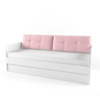 Подушка диванная 38 Попугаев, розовая