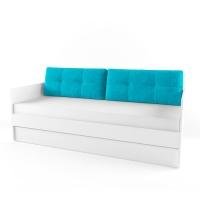 Подушка диванная 38 Попугаев, топаз