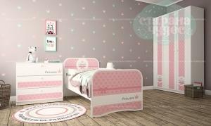 Комната детская Klюkva Baby Texture Princess