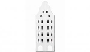 Шкаф-домик двустворчатый Амстердам 1XL, белый