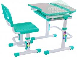 Набор стол + стульчик Mealux EVO-04 зеленый
