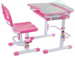 Набор стол + стульчик Mealux EVO-04 розовый