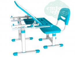 Набор стол + стульчик Mealux EVO-06 голубой