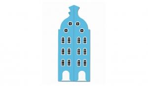 Шкаф-домик двустворчатый Амстердам 2, топаз