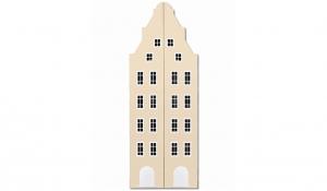 Шкаф-домик двустворчатый Амстердам 1XL, кремовый