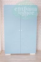 Шкаф Soft, МДФ, серый