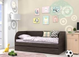 Кровать детская GK 7, венге