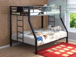 Двухъярусная металлическая кровать ФМ Гранада (2 цвета)
