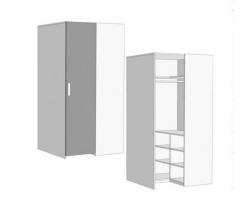 Шкаф-гардероб Klюkva Junior CС012 прикроватный