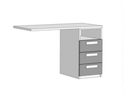 Тумба для письменного стола Klюkva Junior TT02