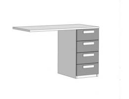 Тумба для письменного стола Klюkva Junior TT03