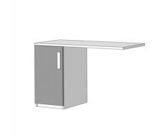 Тумба для письменного стола Klюkva Junior TT04
