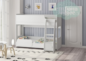 Двухъярусная кровать Легенда 42.4.1, белый