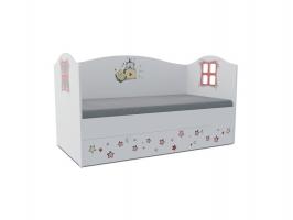 Кровать-домик детская Klюkva Baby KD17, 170х80 см, Тедди