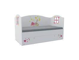 Кровать-домик детская Klюkva Baby KD, 170х80 см, Зайка