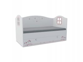 Кровать-домик детская Klюkva Baby KD, 160х80 см, Мишка Girl
