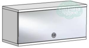Полка Klюkva Velvet VP2 с зеркальным фасадом