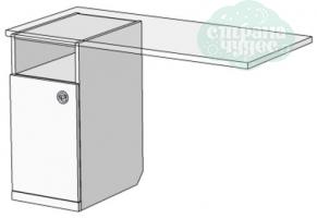 Тумба для письменного стола Klюkva Velvet VT1