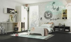 Детская комната Клюква Junior, print Aquarelle