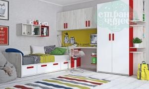 Детская комната Клюква Junior Белый Дуб