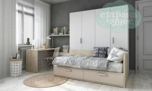 Детская комната Клюква Junior, White дуб элегантный