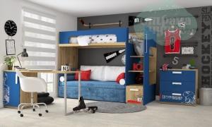 Детская комната Клюква Junior, print Hockey 1