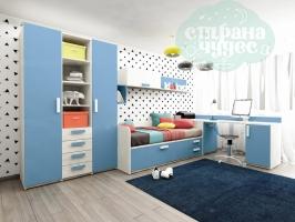 Детская комната Клюква Junior Капри Синий