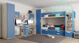 Детская комната Клюква Junior Королевский Синий
