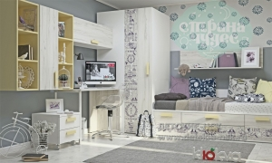 Детская комната Клюква Junior, print Provence