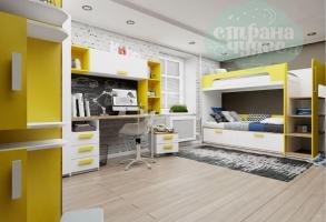 Детская комната Klюkva Junior Солнечный свет