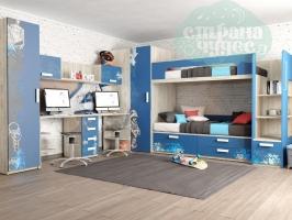 Детская комната Клюква Junior, print Urban