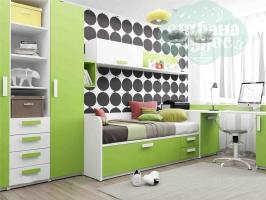 Детская комната Klюkva Junior Зеленая Мамба