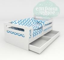 Кровать с ящиком, Страна Чудес