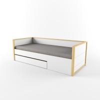 Кровать Робин Wood Лайт с фальш-панелью