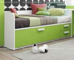 Кровать-диван Klюkva Junior BS06 с 3 ящиками