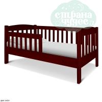 """Детская деревянная кровать """"Моника"""" (ширина 80 см)"""