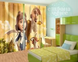 """Фотошторы для детской комнаты """"Маленький принц"""""""