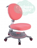 Кресло компьютерное FunDesk SST1 детское, pink/розовое